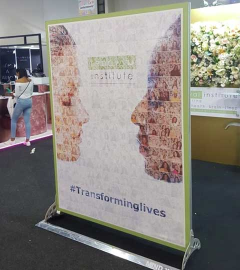 Skin Renewal Mosaic Wall